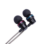 Inpher-SMX6 3.5mm Earphone Metal headset In-Ear Earbuds For Mobile phones computers MP3 MP4 Earphones earphone for phone