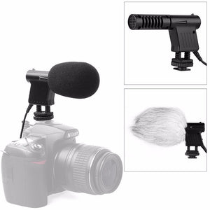 Boya Pro Video Broadcast Directional Condenser Mini Shotguns Microphone Interview Mic for Nikon D3300 Canon EOS T6i Sony A9 DSLR