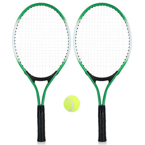 REGAIL 2Pcs Kids Tennis Racket String Tennis Racquets High Quality Rackets with 1 Tennis Ball and Cover Bag Free Shipping