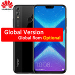 Huawei Honor 8X MobilePhone 6.5 inch Screen 3750mAh Battery Android 8.2 Dual Back 20MP Camera Multiple Language Smartphone