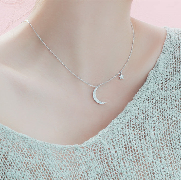My Moon and Star Necklace