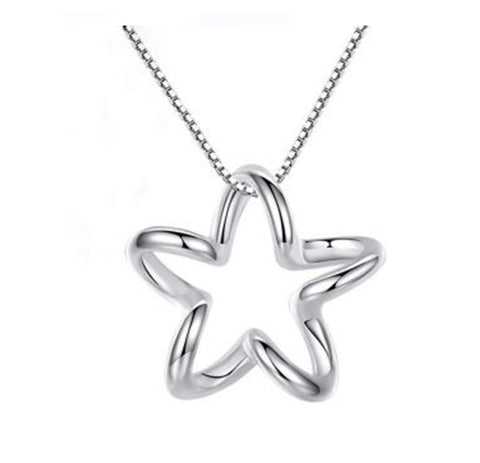 Image of The Wavy Star Necklace