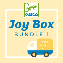 DJECO Joy Box 1 Accessories - Games Threads 4 Thought