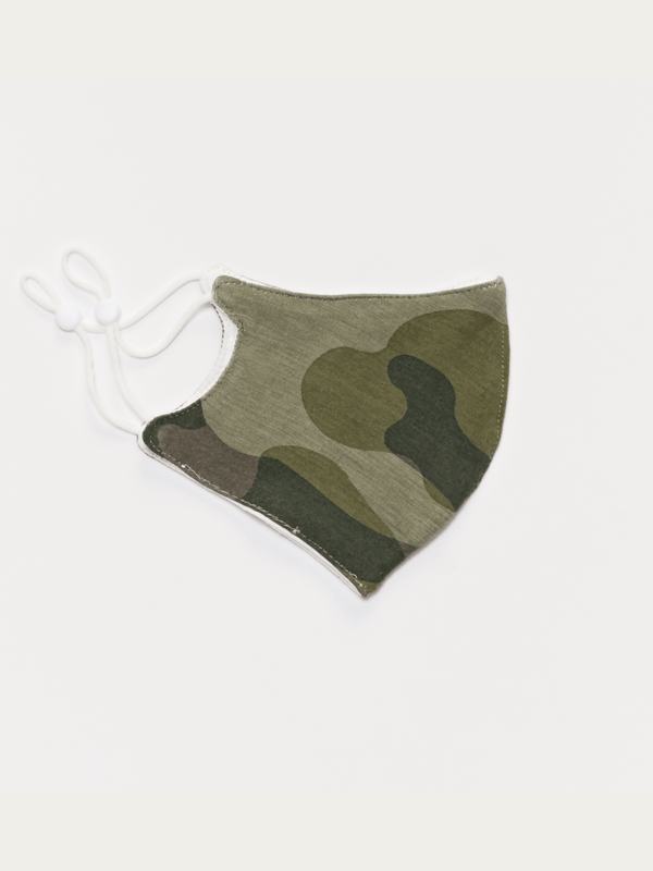 Camo Modal Face Covering Accessories - Mask Threads 4 Thought