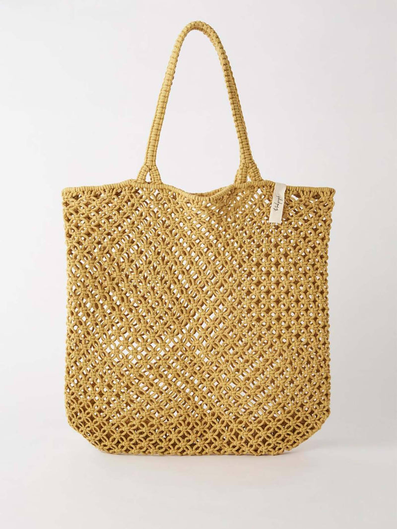 Macrame Tote Bag Accessories - Bags The Beach People