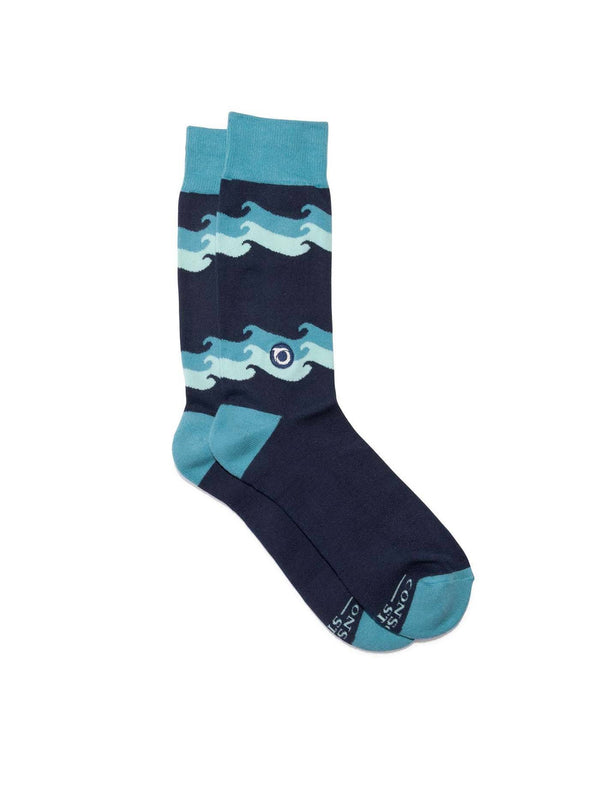 Socks That Protect Oceans Accessories - Socks Conscious Steps