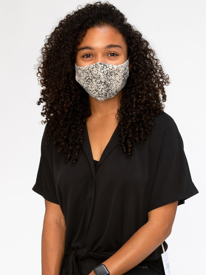 Wild Print Face Covering Accessories - Mask Threads 4 Thought