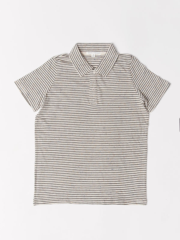 Confetti Stripe Polo Threads 4 Thought