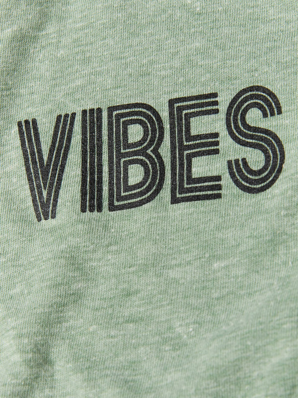 Boy's Long Sleeve Vibes Graphic Tee Boys Tops Threads 4 Thought