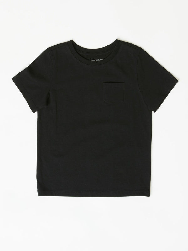 Invincible Crew Neck Pocket Tee Boys Tops Tshirt Threads 4 Thought
