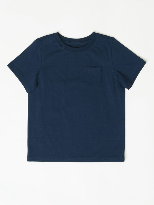 Little Invincible Crew Neck Pocket Tee Boys Tops Tshirt Threads 4 Thought