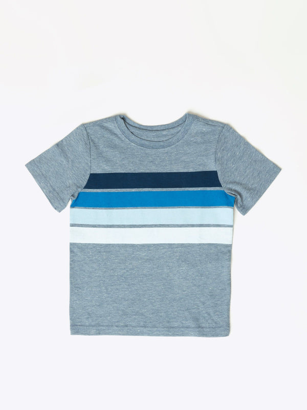Boys Four Stripe Graphic Tee Little Boys Tops Threads 4 Thought