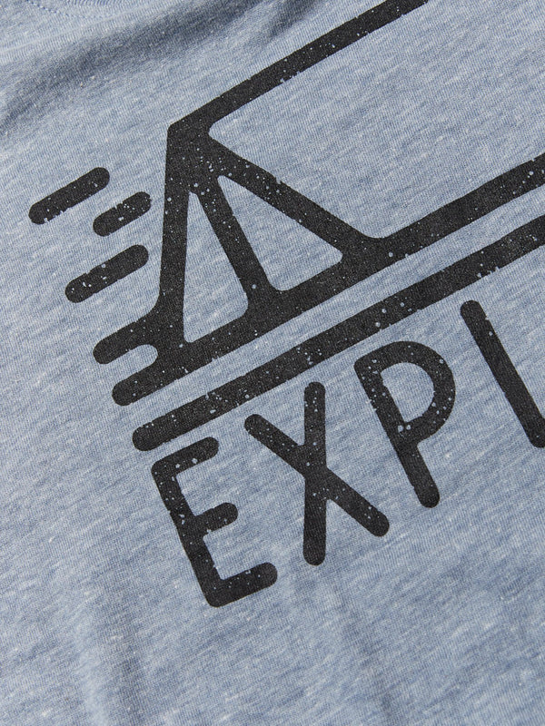 Boy's Long Sleeve Explore Graphic Tee Threads 4 Thought