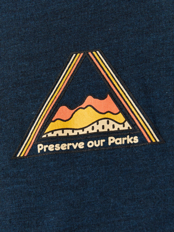 Boy's LS Preserve Our Parks Graphic Tee Boys Tops Threads 4 Thought