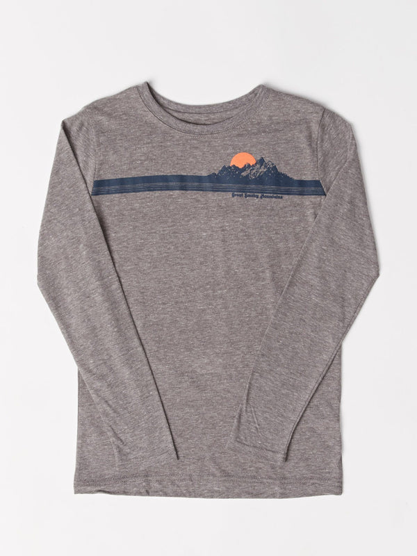 Boy's LS Smoky Mountains Graphic Tee Threads 4 Thought
