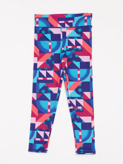 Geo Printed Legging Girls Bottoms Leggings Threads 4 Thought
