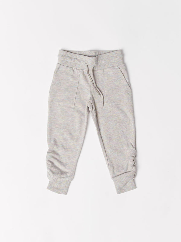 Lina Ruched Terry Jogger Girls Bottoms Sweatpants Threads 4 Thought