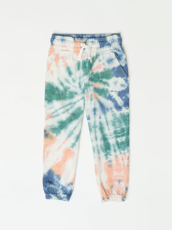 Little Girl's Tie Dye Jogger Girls Bottoms Sweatpants Threads 4 Thought