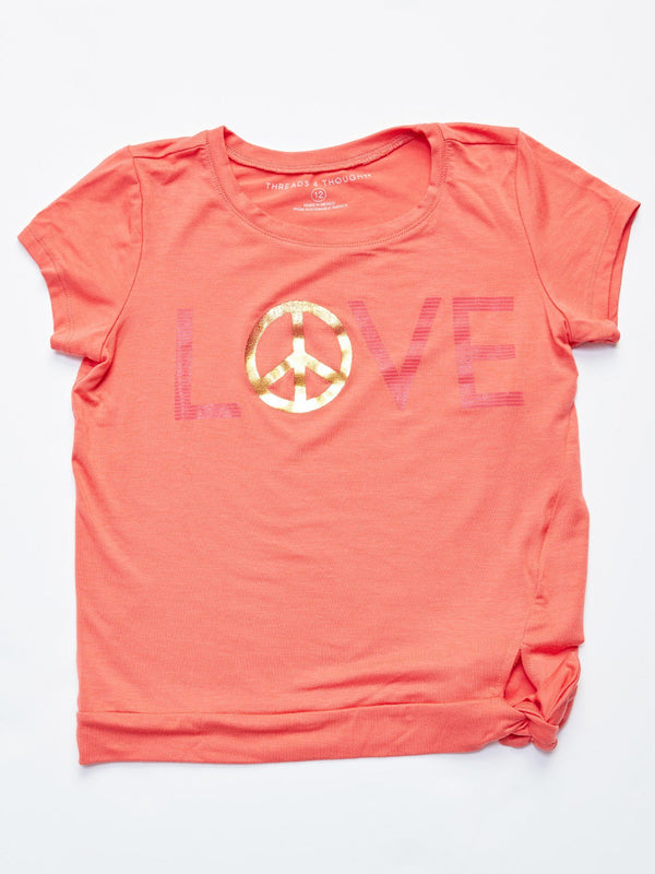 Love Rhea Tee Girls Tops Threads 4 Thought