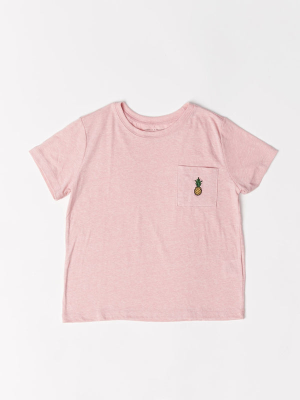 Cammi Pocket Graphic Tee Girls Tops Threads 4 Thought