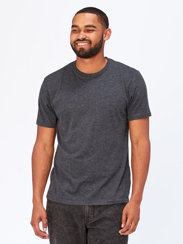 Baseline Crew Neck Mens Tops Threads 4 Thought S Carbon