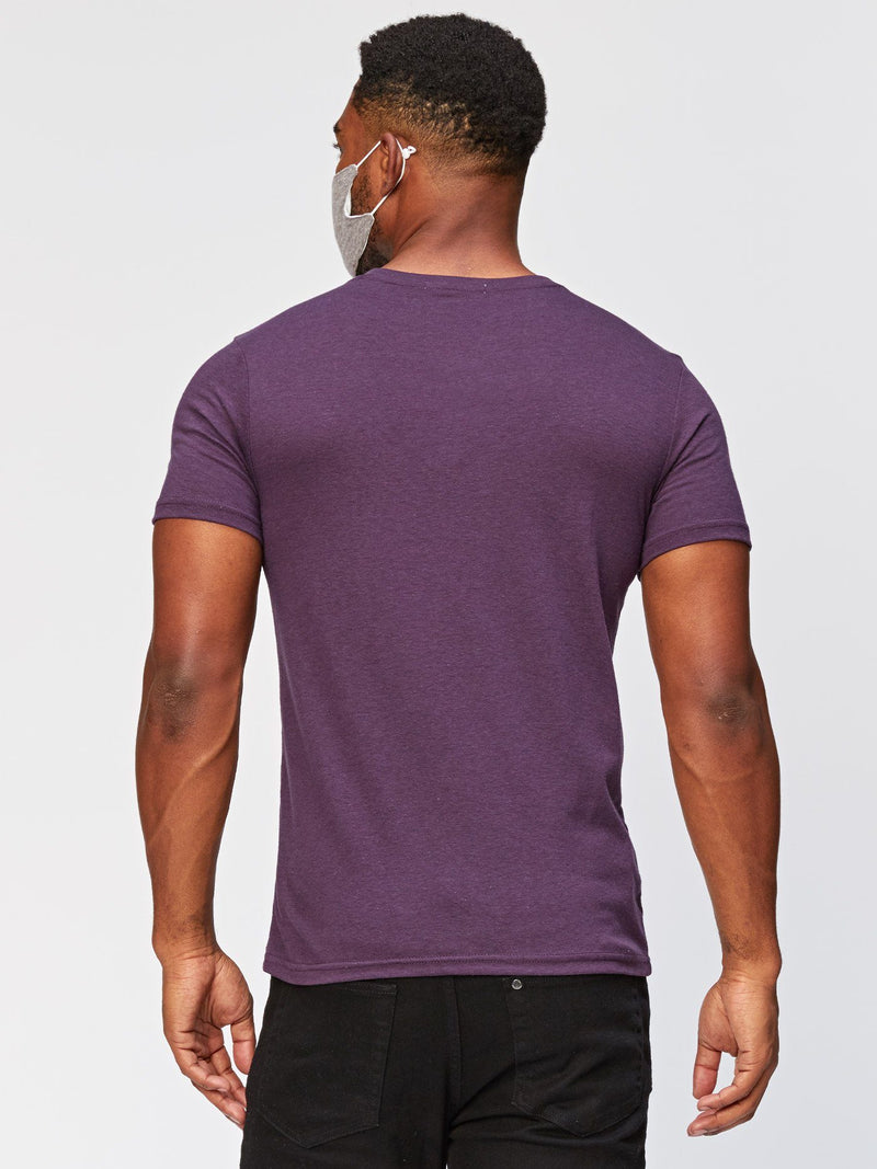 Triblend Short Sleeve Crew Neck Mens Tops Threads 4 Thought