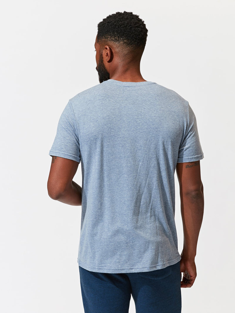 Triblend Crew Neck Tee Mens Tops Tshirt Threads 4 Thought