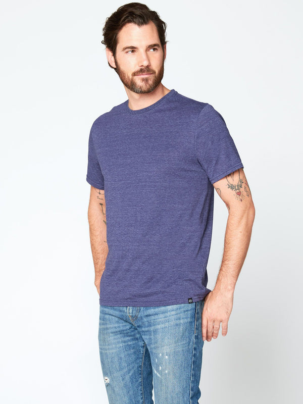 Triblend Crew Neck Tee Mens Tops Threads 4 Thought