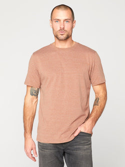 Triblend Crew Neck Tee Mens Tops Threads 4 Thought S Sepia