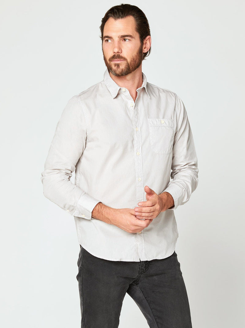 Standard Shirt Mens Tops Shirt Threads 4 Thought S Glacier