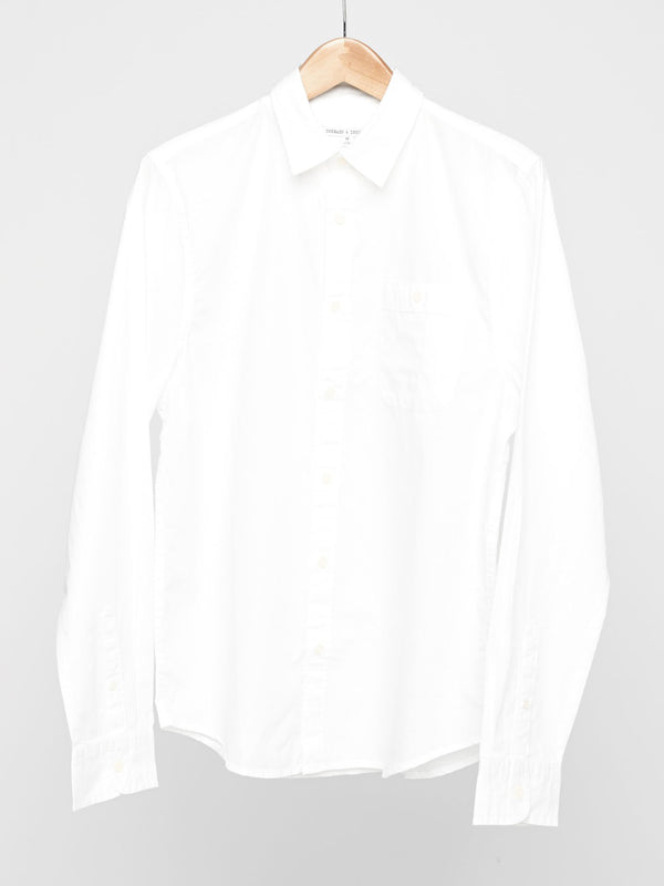 Standard Shirt Mens Tops Shirt Threads 4 Thought S White