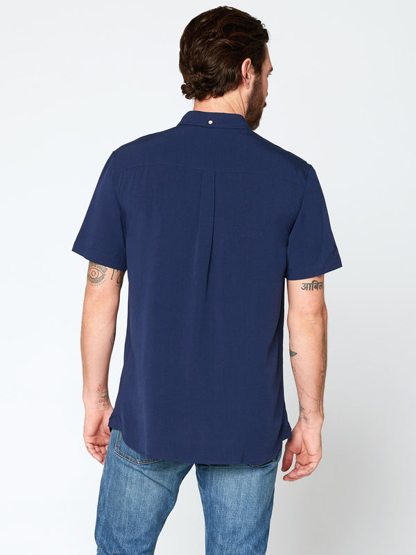 Leo Short Sleeve Popover Mens Tops Threads 4 Thought