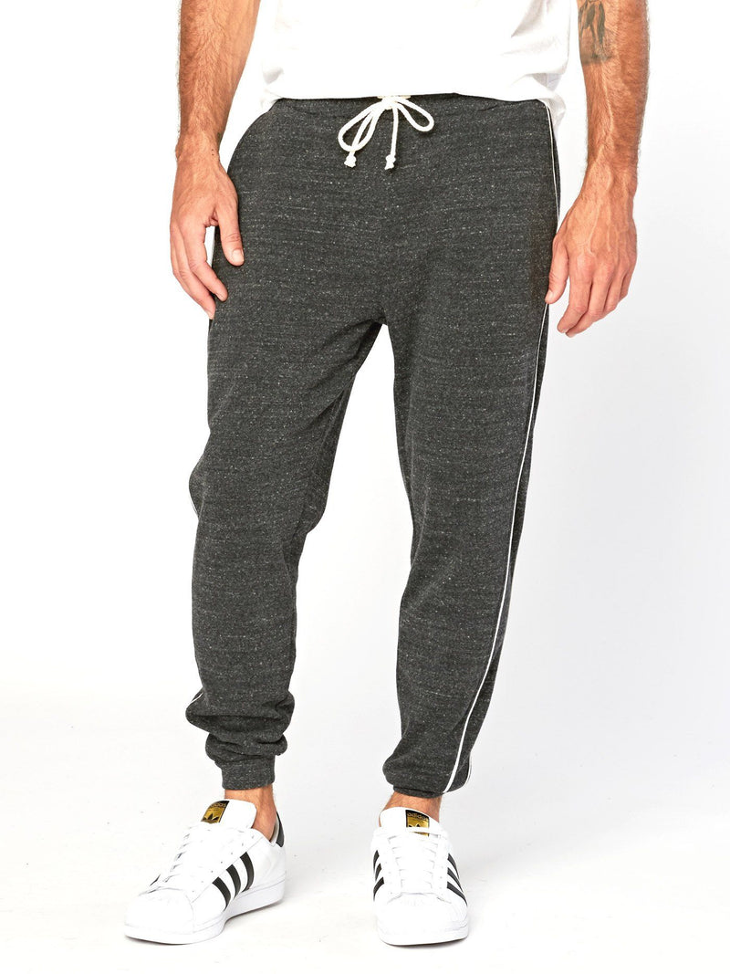 Ike Triblend Jogger Mens Bottoms Threads 4 Thought S Heather Black