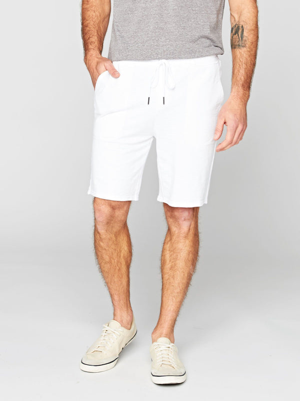 Micah Shorts Mens Bottoms Short Threads 4 Thought S White