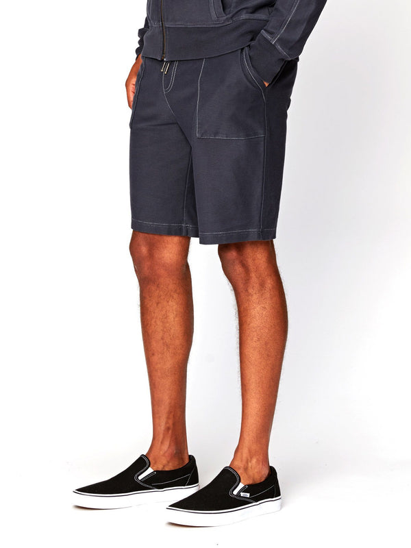 Saul Knit Twill Pocket Shorts Mens Bottoms Short Threads 4 Thought