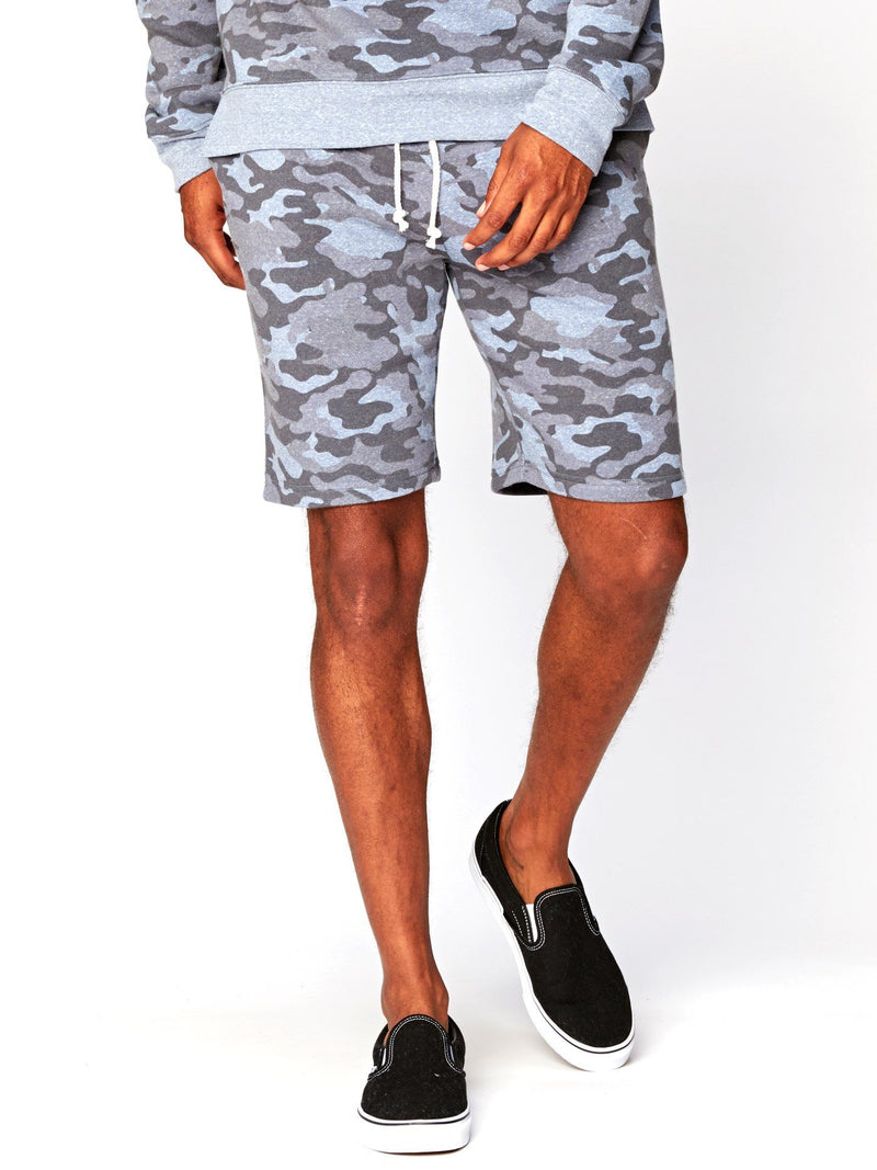 Garret Camo Triblend Short Mens Bottoms Short Threads 4 Thought S China Blue