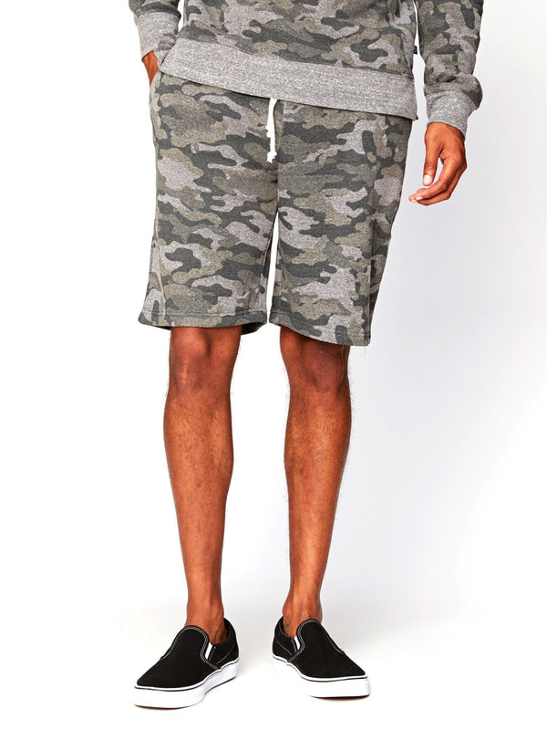 Garret Camo Triblend Short Mens Bottoms Short Threads 4 Thought S Heather Grey