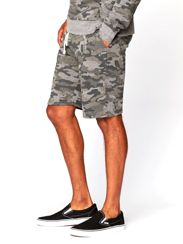 Garret Camo Triblend Short Mens Bottoms Short Threads 4 Thought