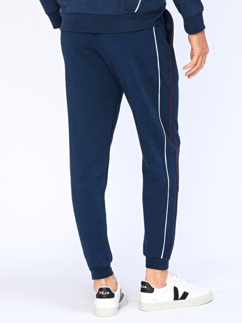Tobias Contrast Piping Jogger Mens Bottoms Threads 4 Thought