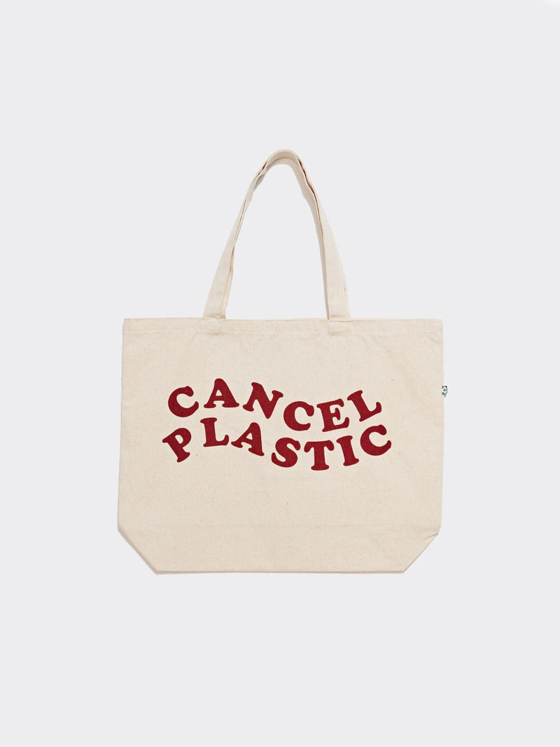 "Cancel Plastic Tote 20"" X 14"" Threads 4 Thought"