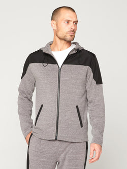 Dalton Active Hoodie Mens Outerwear Sweatshirt Threads 4 Thought S Heather Grey