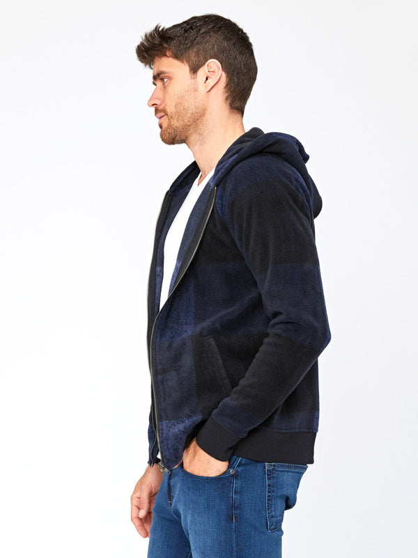 Declan Fleece Zip Hoodie Mens Outerwear Sweatshirt Threads 4 Thought