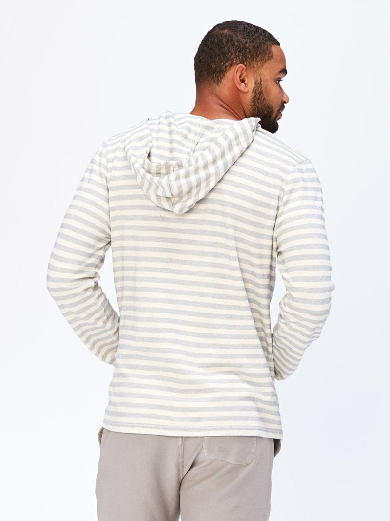 Abe Stripe Pullover Hoodie Mens Outerwear Sweatshirt Threads 4 Thought
