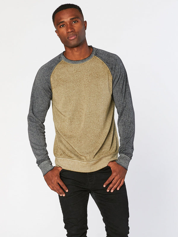 Burnout Wash Raglan