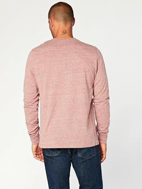 Triblend Henley Mens Tops Threads 4 Thought