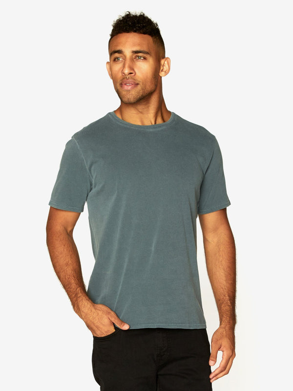 Standard Crew Neck Tee Mens Tops Threads 4 Thought S Rosin