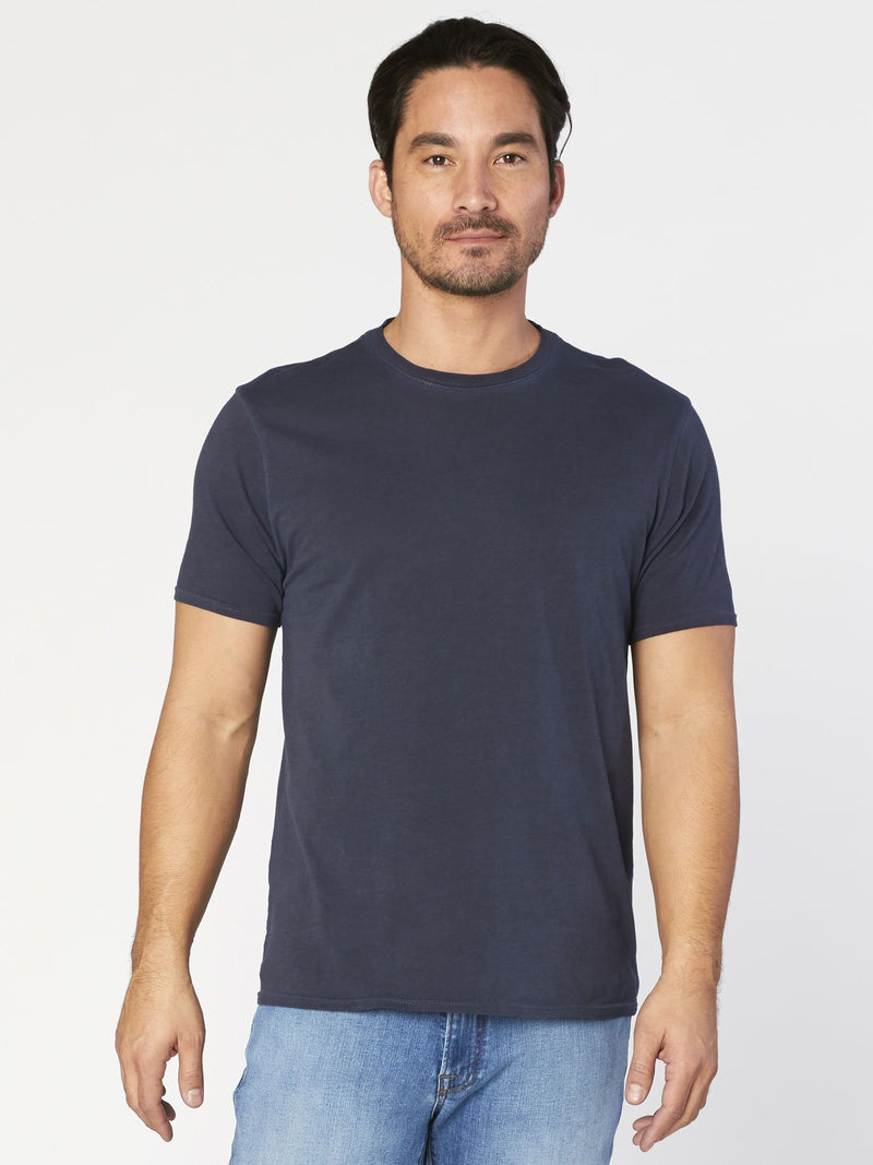 Standard Crew Neck Tee Mens Tops Threads 4 Thought S Raw Denim