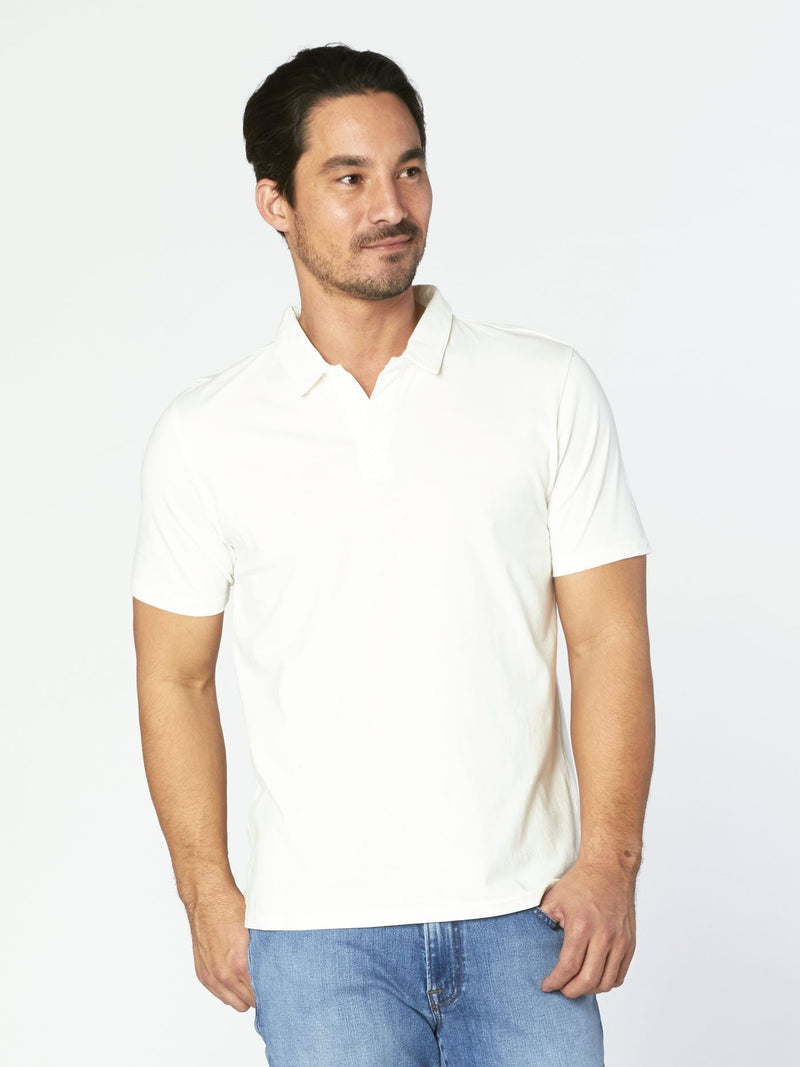 Dune Polo Mens Tops Threads 4 Thought S Soft White