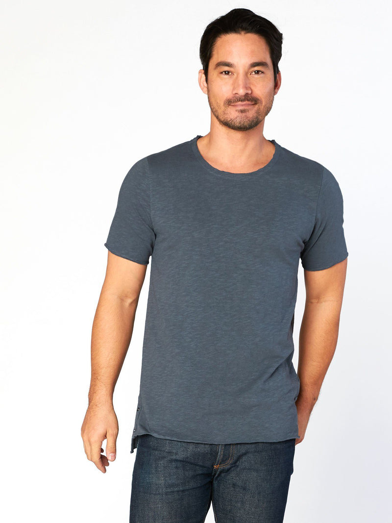 Miles Tee Mens Tops Threads 4 Thought S Slate