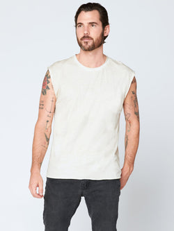 Bone Tank Mens Tops Threads 4 Thought M Light Sand